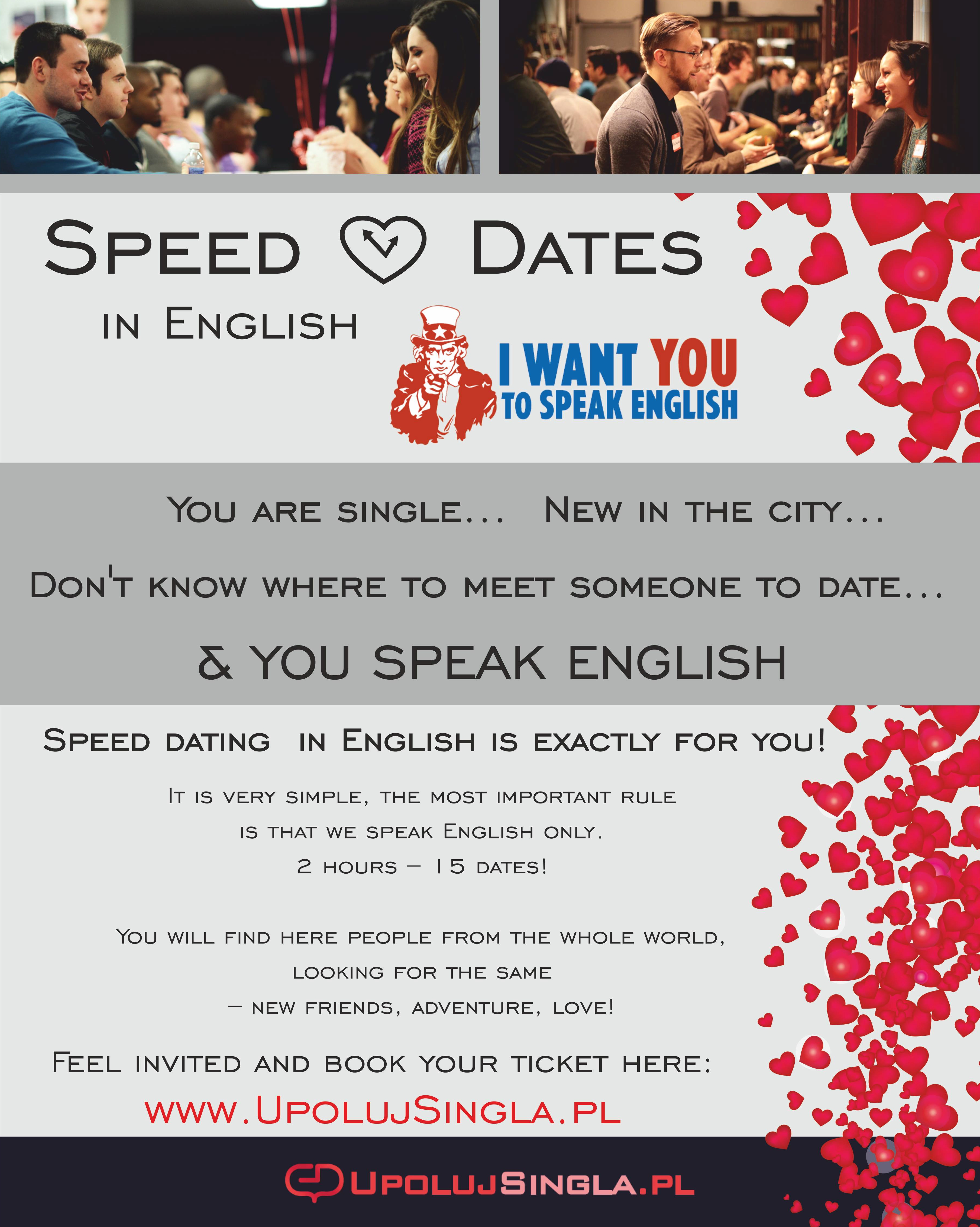 speed dating warsaw